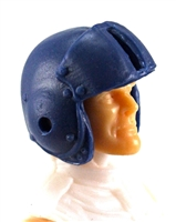 "Headgear: BLUE Flight Helmet - 1:18 Scale Modular MTF Accessory for 3-3/4"" Action Figures"