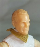 "Headgear: Standard Neck Scarf DARK TAN Version - 1:18 Scale Modular MTF Accessory for 3-3/4"" Action Figures"