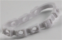 "Bandolier: WHITE Version - 1:18 Scale Modular MTF Accessory for 3-3/4"" Action Figures"