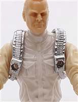 "Steady Cam Gun: Steady Cam Harness SILVER Version - 1:18 Scale Modular MTF Accessory for 3-3/4"" Action Figures"