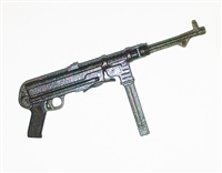 MP40 Machine Gun GUN-METAL Version - 1:18 Scale Weapon for 3-3/4 Inch Action Figures