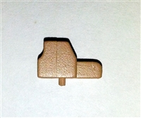 "Modular Component: HOLO Scope ""Large"" TAN Version - 1:18 Scale Accessory for 3-3/4 Inch Action Figures"