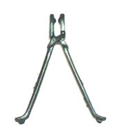 BIPOD - EXTRA Large BLACK Version - 1:18 Scale Weapon Accessory for 3 3/4 Inch Action Figures