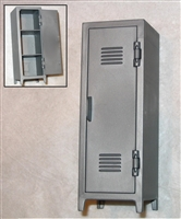 Locker / Wardrobe with Working Door - 1:18 Scale Accessory for 3 3/4 Inch Action Figures