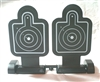 DUAL RIFLE TARGETS w/ WORKING BASE - 1:18 Scale Accessory for 3 3/4 Inch Action Figures