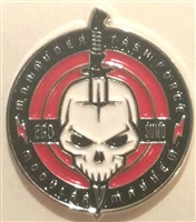 Marauder Task Force Logo Die-Cast Metal 1 inch  Pin