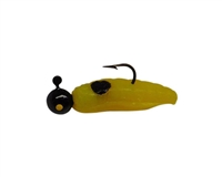 1/16oz Yellow Black Dot/Black Head/Yellow Eye 2/Pk
