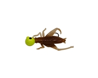 1/8oz Cricket Body/Chart Head/Black Eye 2/Pk
