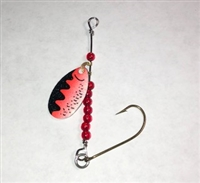 #3 MFS Orange Trout Crystal Spinner 1/Pk
