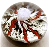 The Glass Eye Volcano Paperweight
