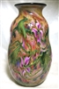 Charles Lotton Hand Blown Opal Phosphate Glass Vase