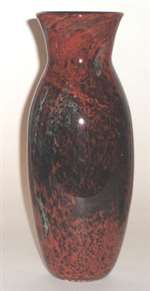 Josh Simpson Red New Mexico Vase