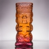 Andrew Iannazzi Red Lava Warrior Tiki Mug