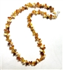 Alicia Niles Amber Pebble Necklace