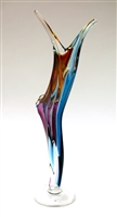 Barry Entner Free fall Glass Sculpture