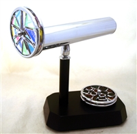 Kaleidoscopes Small Contempo Dichro Interchangeable Chrome Kaleidoscope
