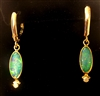 Kevin and Joanne Dowdy Opal and Diamond Earrings