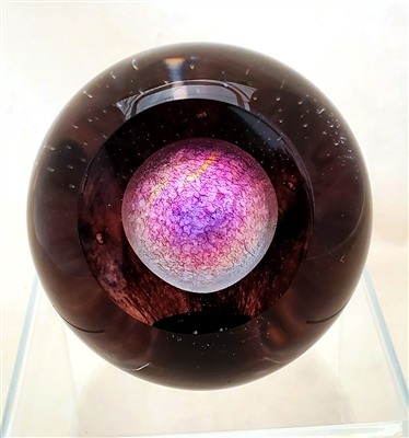 The Glass Eye Pluto Paperweight