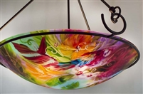 Jenny Floravita  Tropical Bird Chandelier