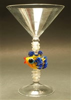 Jenni Woock Fish Martini Glass