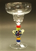 Jenni Woock Mask Margarita Glass