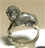 Jim Yesberger Vintage Sterling Silver Lion Ring