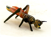 Loy Allen Glass Black Grasshopper
