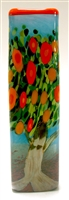 Michael Maddy and Rina Fehrensen Orange Tree Rectangle Vase