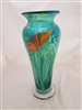 Orient and Flume Green Bird Of Paradise Vase