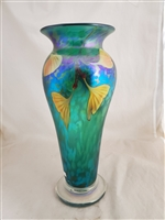 Orient and Flume Green Ginko Vase