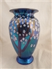 Orient and Flume Large Blue Fumed Hawthorne Vase
