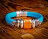 Olive Parker Big Sky Leather Bracelet