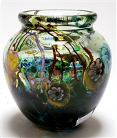 Paul Counts Small Round Ocean Vase I