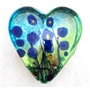 Robert Held Small Blue Poppy Heart weight