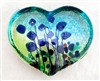 Robert Held Large Blue Poppy Heart weight