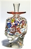 Ralph Mossman and Mary Mulvaney multi color murrine perfume bottle