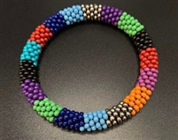 Sher Berman Primary Color Crochet Bangle