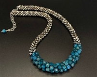 Sher Berman Apatite Crochet necklace