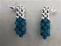 Sher Berman Apatite Woven Earrings