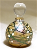 Bryce Dimitruk Hand Blown Glass Round Cherry Blossom Perfume