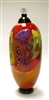 Wes Hunting Hand Blown Glass  Colorfield Lidded Jar