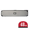 Gray Hard Case with Wheels 48""