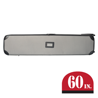 Gray Hard Case with Wheels 60""