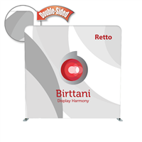 Retto Econ 8ft. | Double-Sided Graphic Package
