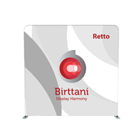 Retto Econ 8ft. | Single-Sided Graphic Package