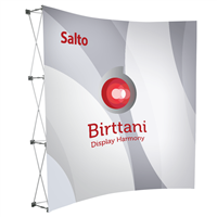 Salto Curved 8ft. | Single-Sided Graphic Package