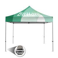 Tenda 10' x10' Aluminum | Canopy Graphic Package