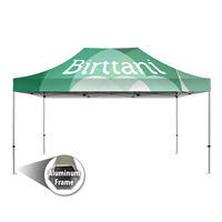 Tenda 10' x15' Aluminum | Canopy | Single-Sided Wall Graphic Package
