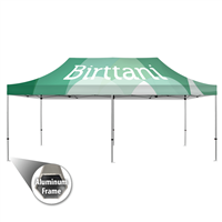 Tenda 10' x20' Aluminum | Canopy | Single-Sided Wall Graphic Package