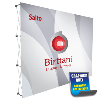 Salto 10ft. | Single-Sided Graphic Print